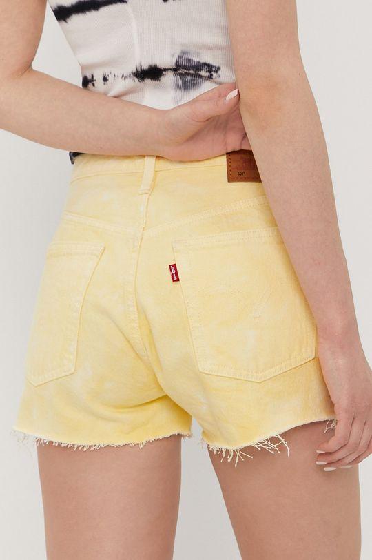 Levi's - Szorty jeansowe 100 % Bawełna