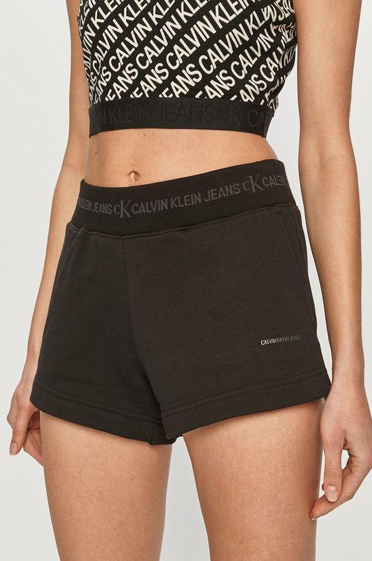 czarny Calvin Klein Jeans - Szorty Damski