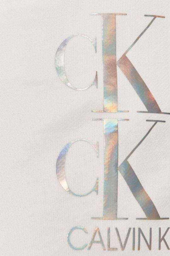 bílá Calvin Klein Jeans - Kraťasy