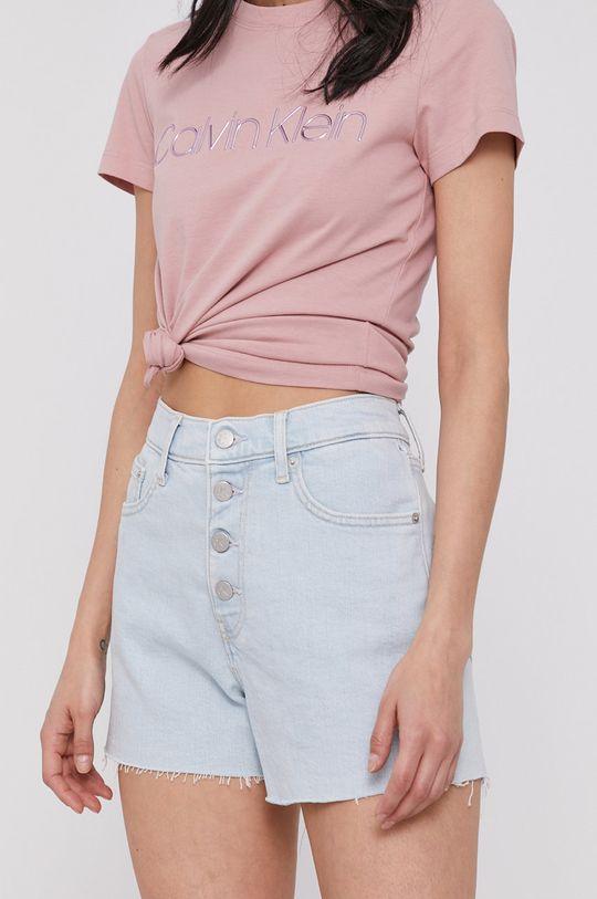 niebieski Calvin Klein Jeans - Szorty jeansowe Damski