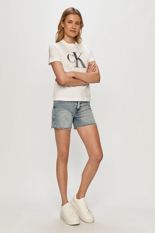 Calvin Klein Jeans - Pantaloni scurti jeans albastru