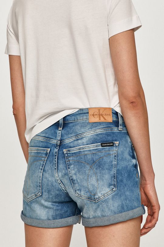 Calvin Klein Jeans - Džínové šortky  90% Bavlna, 2% Elastan, 8% elastomultiester
