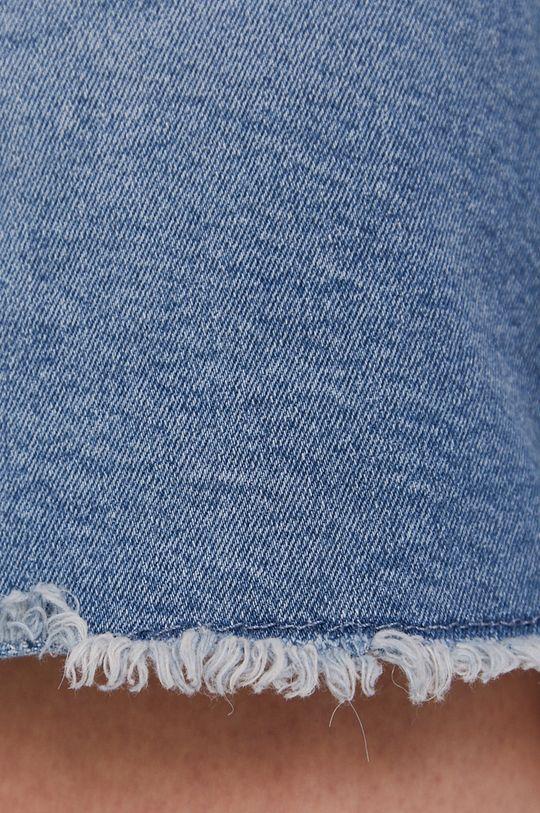 niebieski Noisy May - Szorty jeansowe