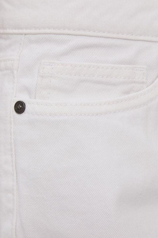 biały Noisy May - Szorty jeansowe