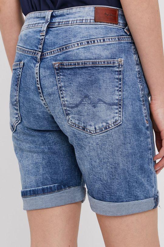 Pepe Jeans - Szorty jeansowe Poppy 97 % Bawełna, 3 % Elastan
