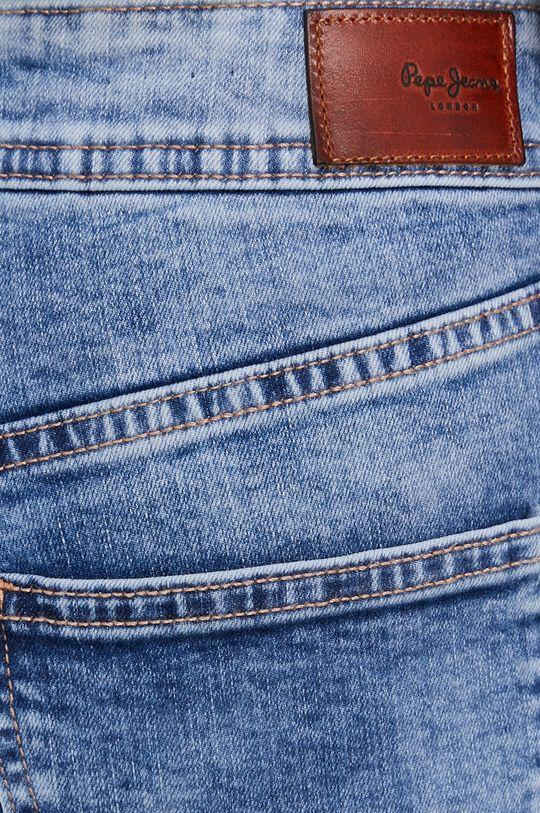 niebieski Pepe Jeans - Szorty jeansowe Poppy