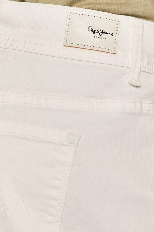 biały Pepe Jeans - Szorty jeansowe Siouxie
