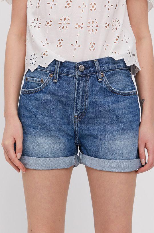 niebieski Pepe Jeans - Szorty jeansowe Mable Damski