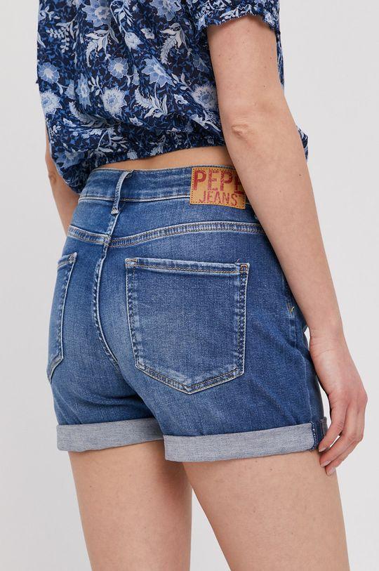 Pepe Jeans - Szorty jeansowe Mary Archive Materiał 1: 92 % Bawełna, 4 % Elastan, 4 % Poliester, Materiał 2: 35 % Bawełna, 65 % Poliester