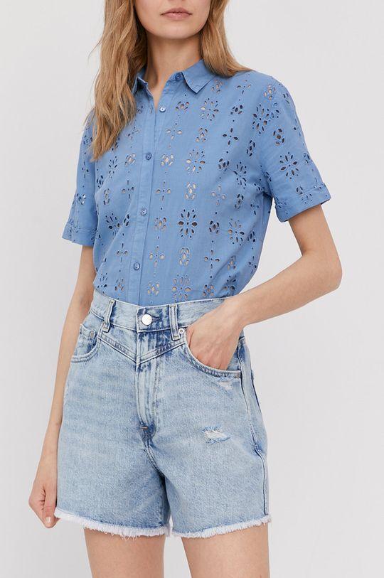 niebieski Pepe Jeans - Szorty jeansowe Rachel Damski