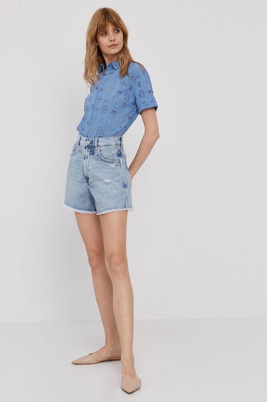 Pepe Jeans - Szorty jeansowe Rachel niebieski