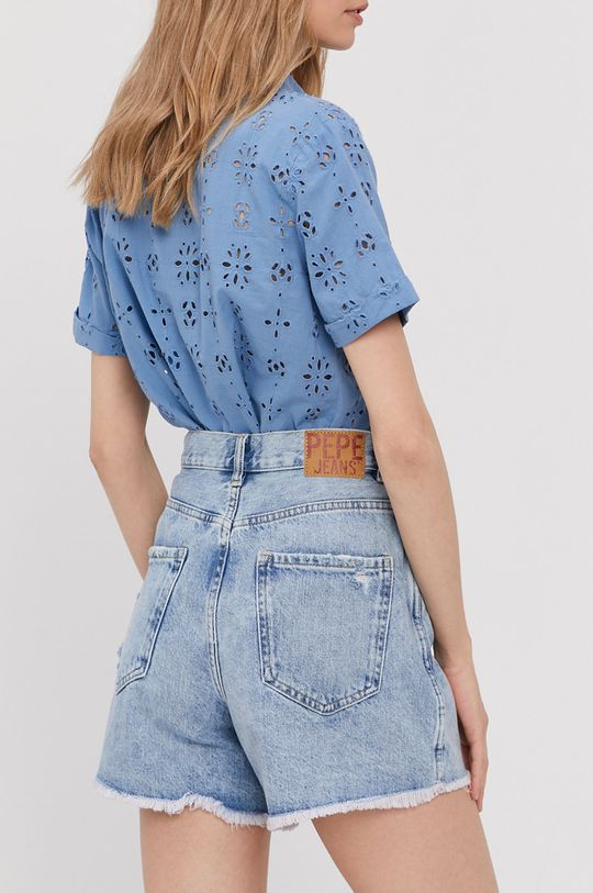 Pepe Jeans - Szorty jeansowe Rachel 100 % Bawełna