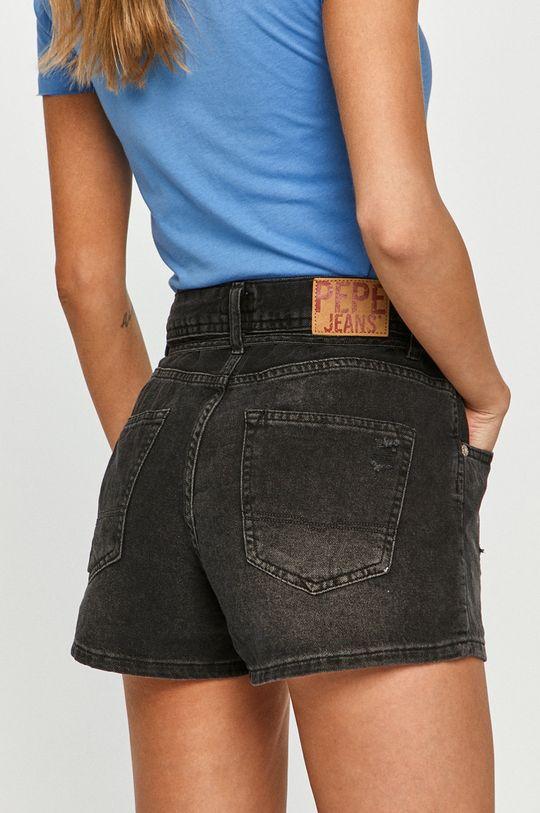 Pepe Jeans - Džínové šortky Bonita Destroy  100% Bavlna