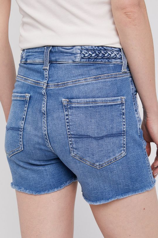 Pepe Jeans - Džínové šortky Mary Archive  Podšívka: 35% Bavlna, 65% Polyester Hlavní materiál: 92% Bavlna, 4% Elastan, 4% Polyester