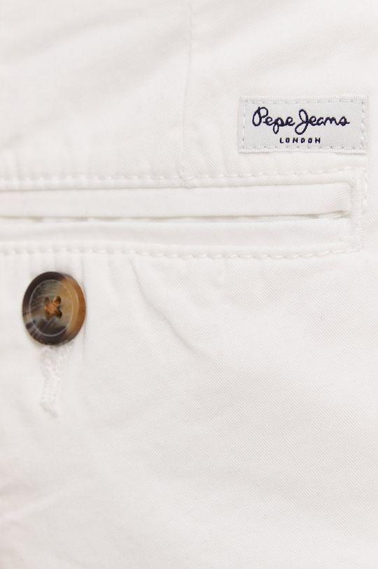 biały Pepe Jeans - Szorty Balboa