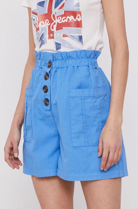 niebieski Pepe Jeans - Szorty Nell Damski