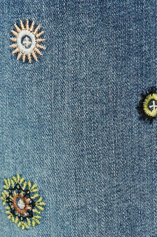 modrá Desigual - Džínové šortky