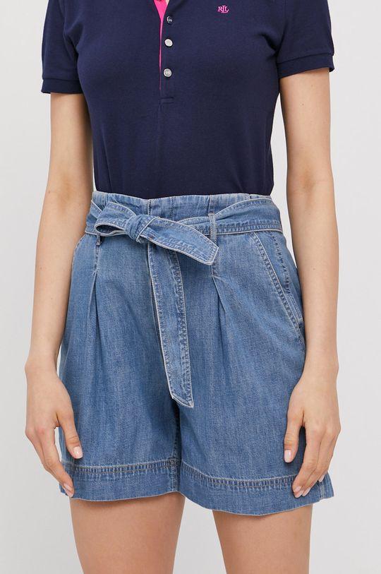 niebieski Lauren Ralph Lauren - Szorty jeansowe Damski