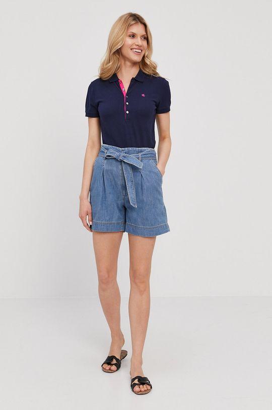 Lauren Ralph Lauren - Szorty jeansowe niebieski