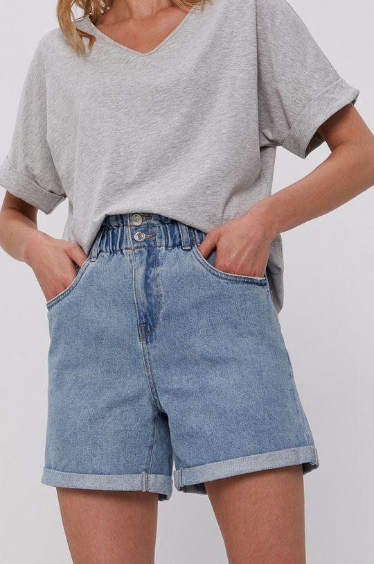 Vero Moda - Szorty jeansowe niebieski