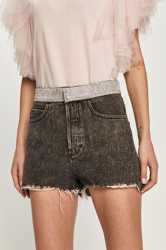 Miss Sixty - Džínové šortky  100% Bavlna