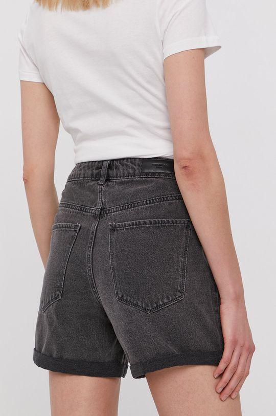 Vero Moda - Rifľové krátke nohavice  100% Bavlna
