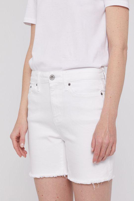 biela Dkny - Rifľové krátke nohavice Dámsky