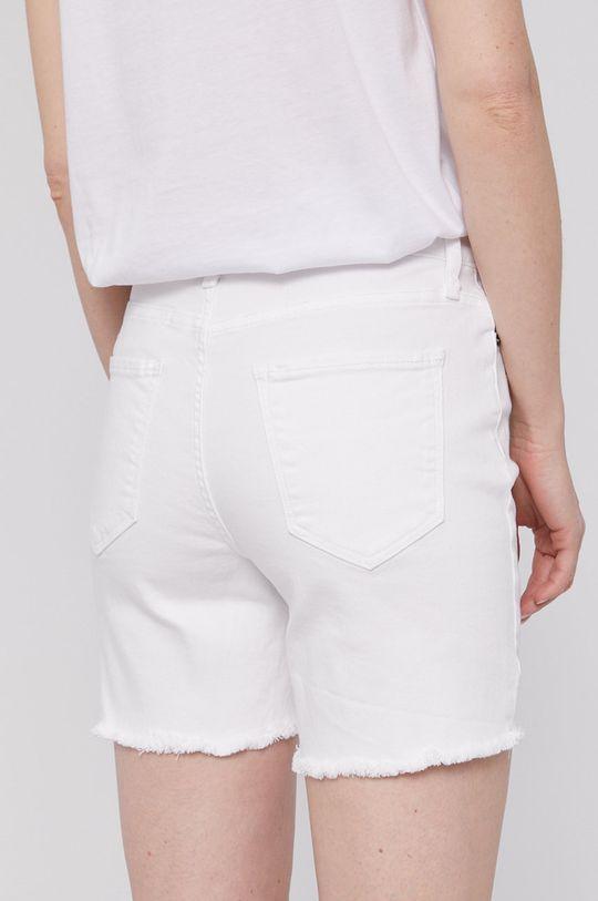 Dkny - Rifľové krátke nohavice  79% Bavlna, 2% Elastan, 19% Rayon