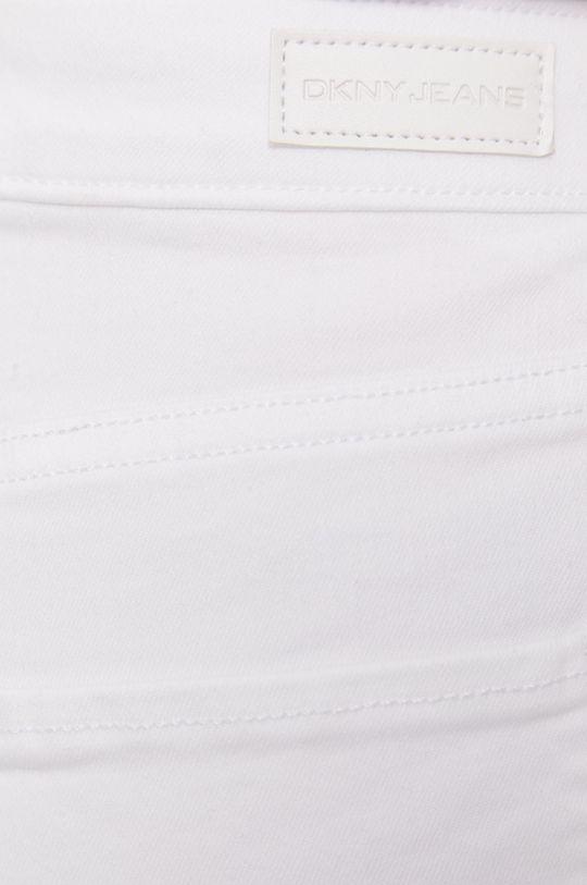 biela Dkny - Rifľové krátke nohavice