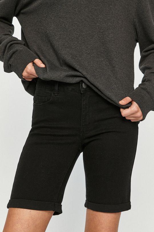 čierna Vero Moda - Rifľové krátke nohavice Dámsky