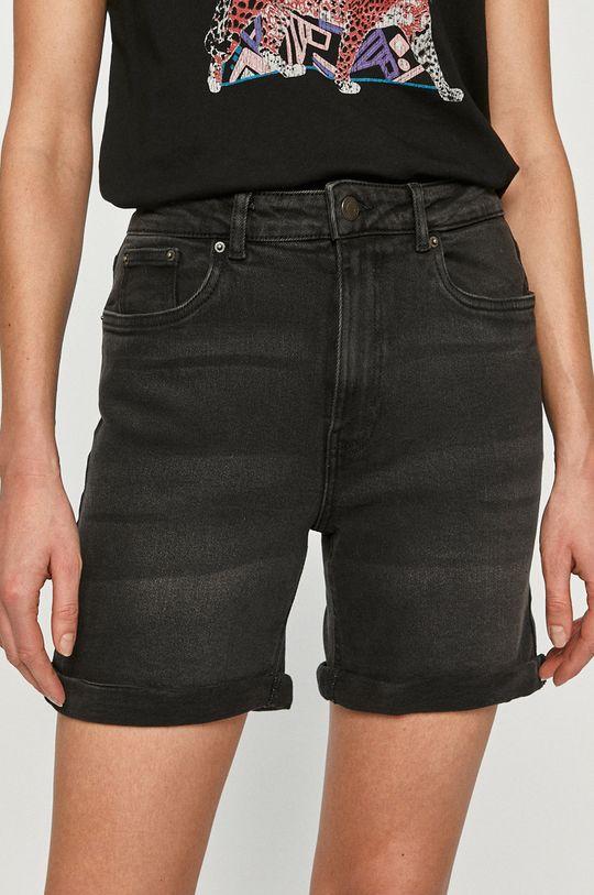 czarny Vero Moda - Szorty jeansowe Damski