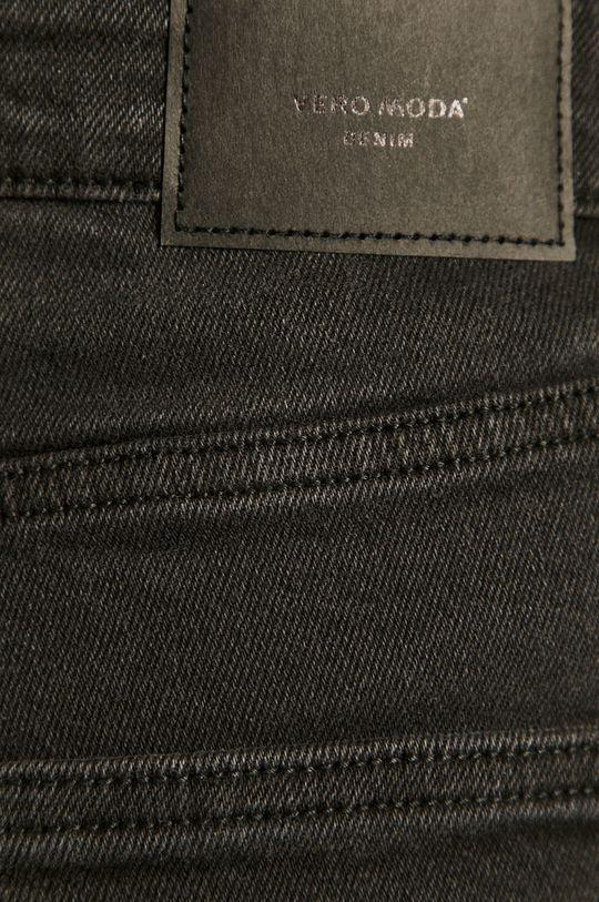 czarny Vero Moda - Szorty jeansowe