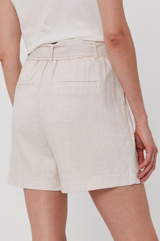 Vero Moda - Šortky  Podšívka: 100% Polyester Základná látka: 20% Ľan, 80% Viskóza