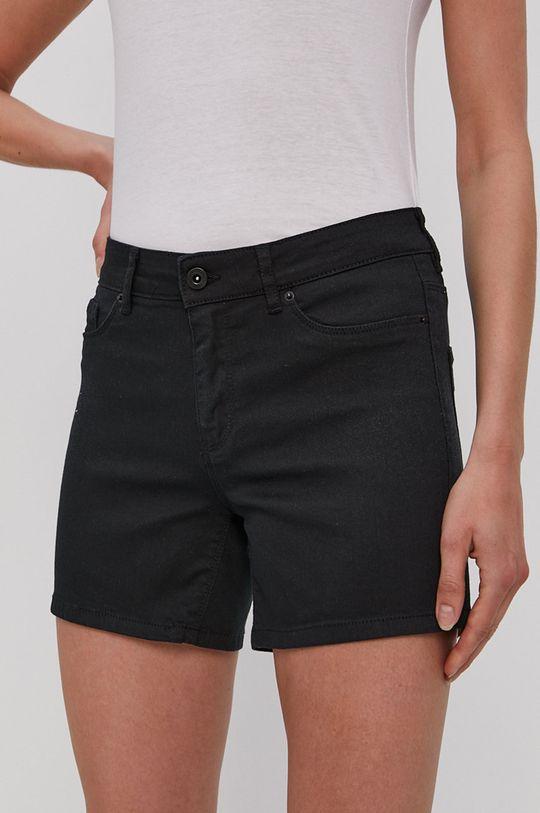 čierna Vero Moda - Šortky Dámsky