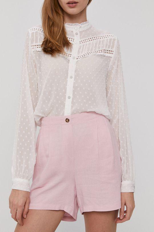 pastelowy różowy Vero Moda - Szorty Damski