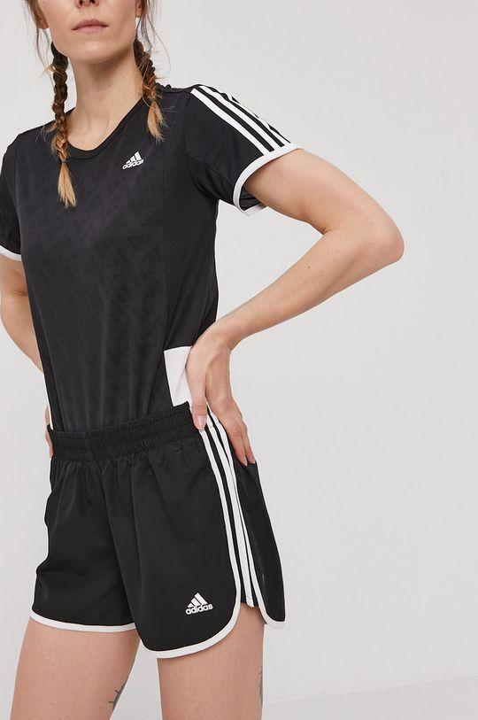 negru adidas Performance - Pantaloni scurti De femei