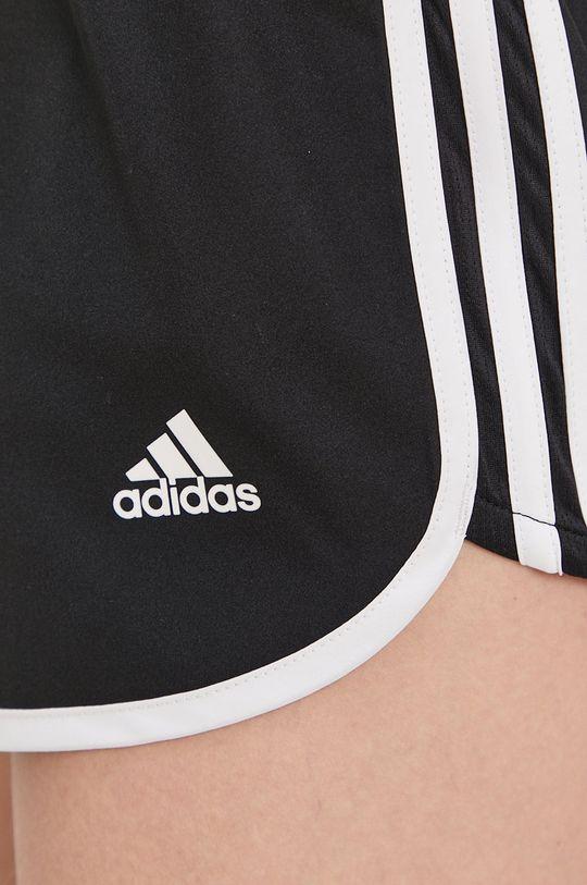 negru adidas Performance - Pantaloni scurti