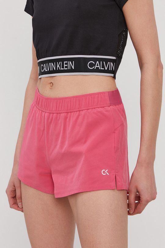 ostry różowy Calvin Klein Performance - Szorty Damski
