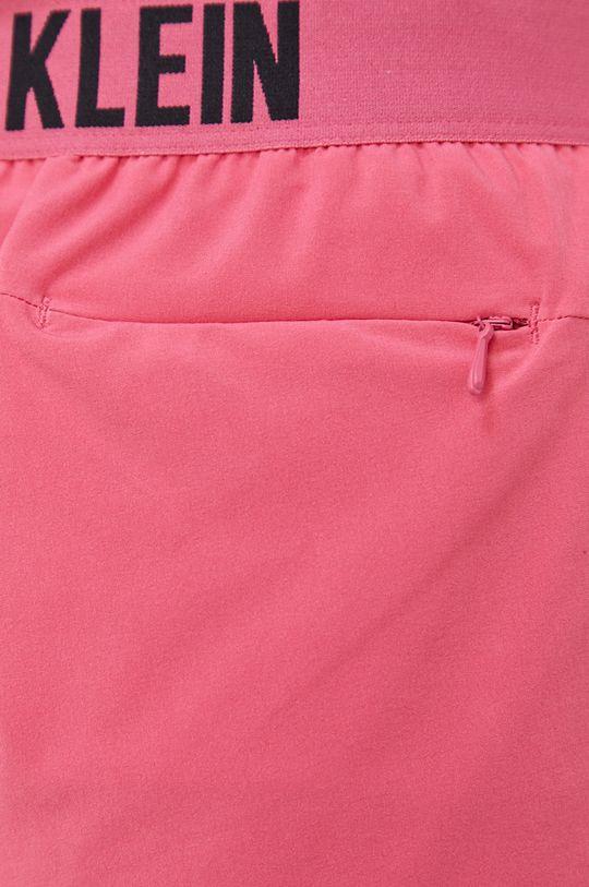 ostry różowy Calvin Klein Performance - Szorty