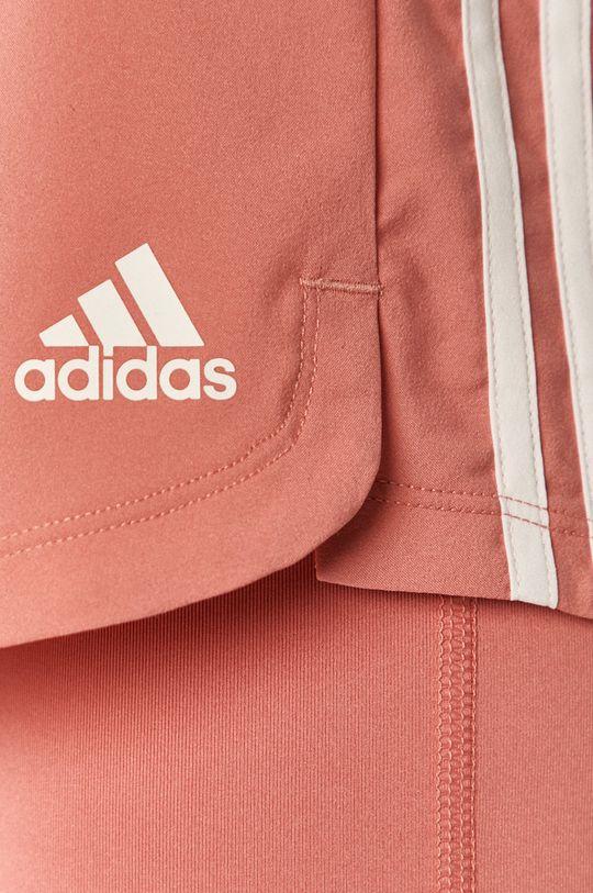 růžová adidas Performance - Kraťasy