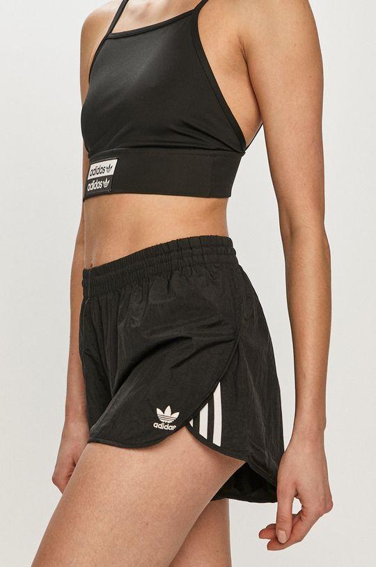 czarny adidas Originals - Szorty Damski