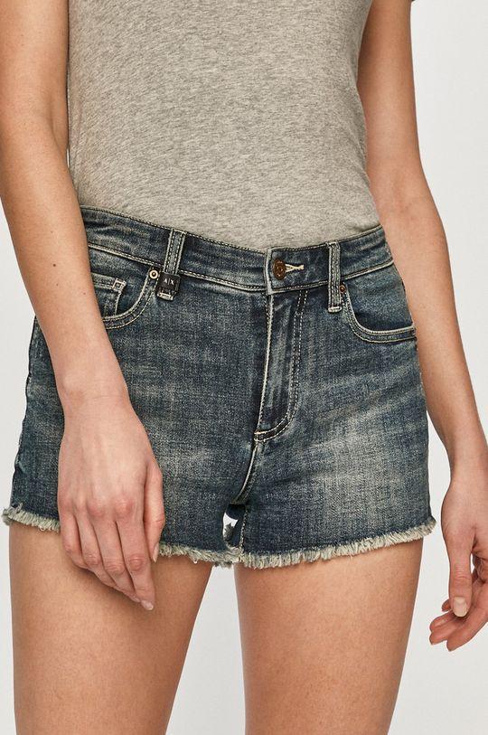 albastru Armani Exchange - Pantaloni scurti jeans De femei