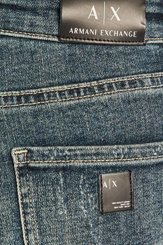 albastru Armani Exchange - Pantaloni scurti jeans