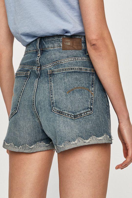 G-Star Raw - Pantaloni scurti jeans  Materialul de baza: 99% Bumbac, 1% Elastan Captuseala buzunarului: 35% Bumbac organic, 65% Poliester
