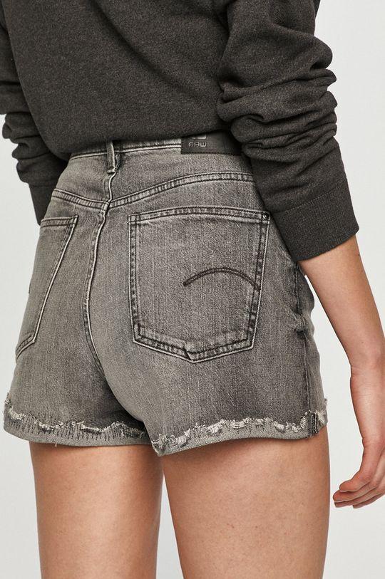 G-Star Raw - Pantaloni scurti jeans  Materialul de baza: 99% Bumbac, 1% Lycra Captuseala buzunarului: 35% Bumbac, 65% Poliester