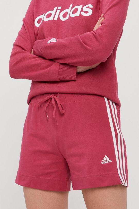 różowy adidas - Szorty Damski