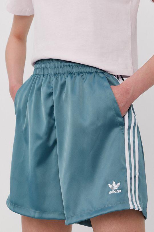 tyrkysová modrá adidas Originals - Šortky Dámsky