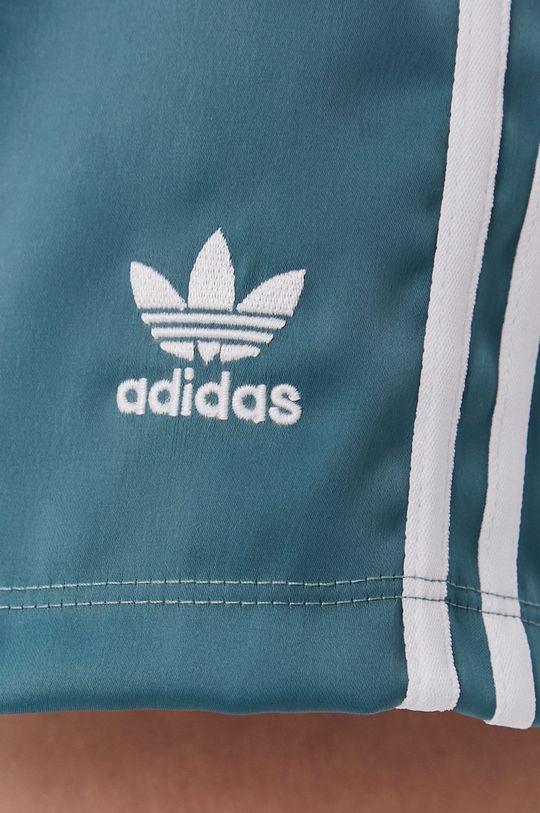 tyrkysová modrá adidas Originals - Šortky