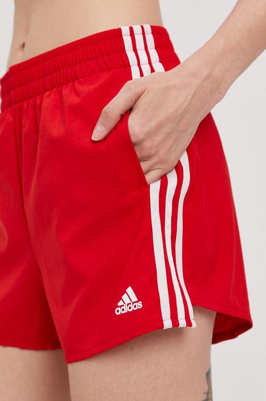 adidas - Pantaloni scurti rosu