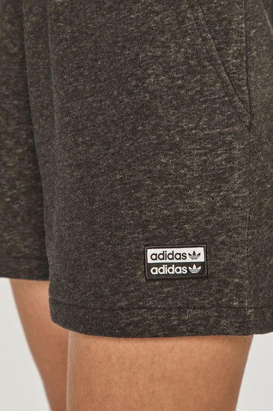 grafitová adidas Originals - Kraťasy